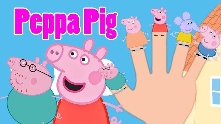 Canciones Infantiles | Peppa Pig La Familia Dedo Canciones de Niños
