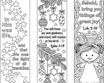 bible bookmarks to print and color | Bibbia versetto da colorare segnalibri più 3 disegni con