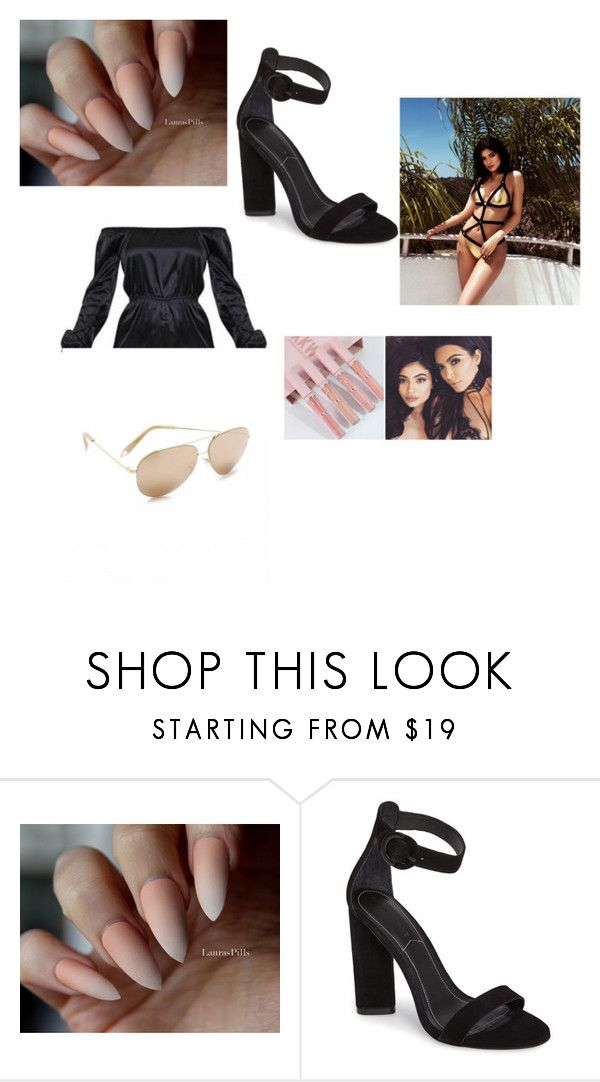 """kilye jenner style"" by lauras-pills on Polyvore featuring bellezza, Kendall + Kylie e gradient"