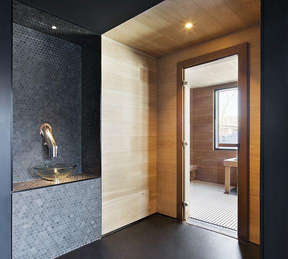 LEMAYMICHAUD | Design | Architecture | Interior Design | Strom Spa | Spa | Sherbrooke | Quebec | Relax |Spa | Sauna | Bathroom