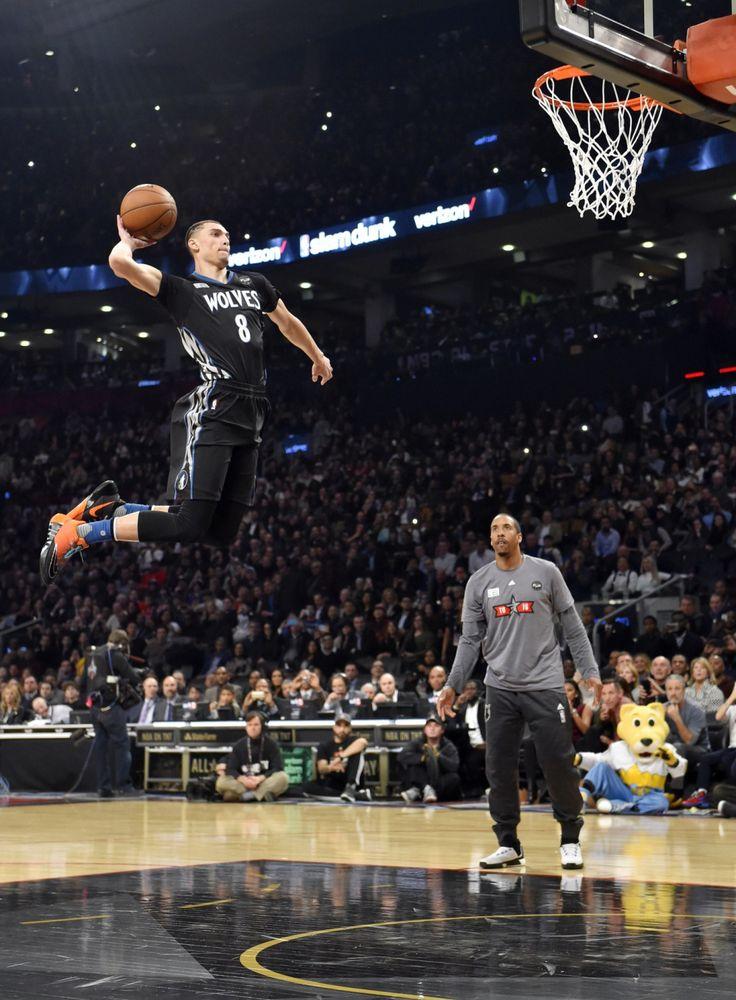 zach lavine 2015 dunk contest | Zach LaVine Beat Aaron Gordon in the Best NBA Dunk Contest Finale of ...