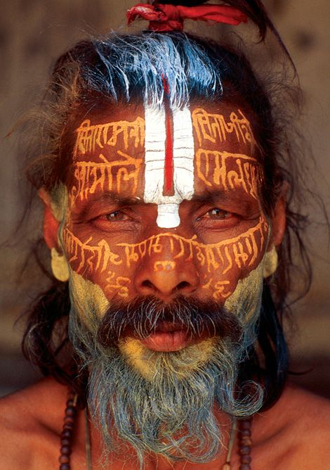 Faces of the World - Yogi. Photo by Thomas L. Kelly
