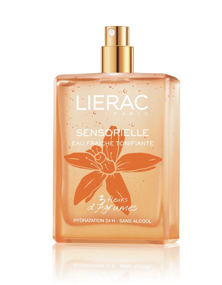 L'Eau fraîche tonifiante aux 3 Fleurs d'Agrumes #Sensorielle #LieracParis