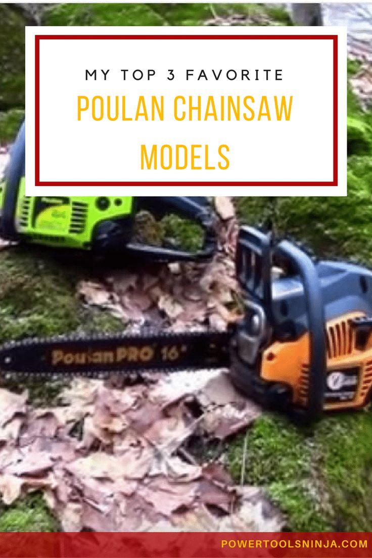If you consider buying a chainsaw, then a poulan chainsaw should be on your list.Here are out top 3 recommendations for top quality models. via @powertoolsninja