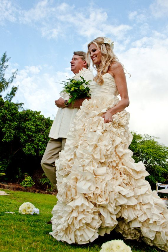 Wedding Dress  Inspired by Sunday Rose  by bridalblissdesigns, $898.00