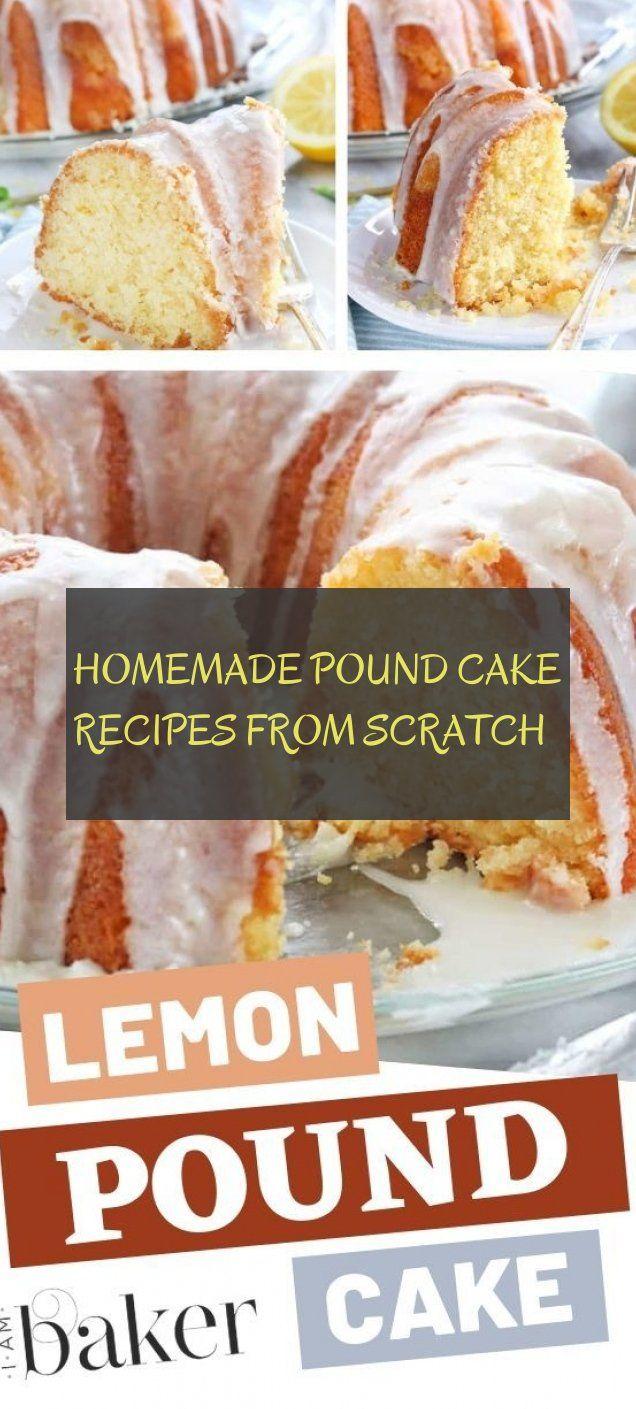 Homemade Pound Cake Recipes From Scratch – cake recipe