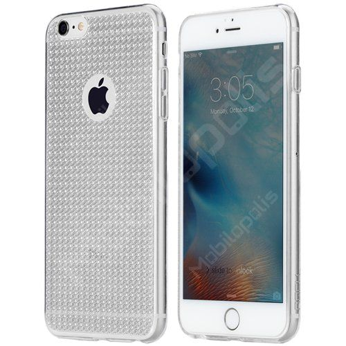 Třpytivý kryt na iPhone 6 Plus, 6s Plus - ROCK Fla series RQ001 čirý