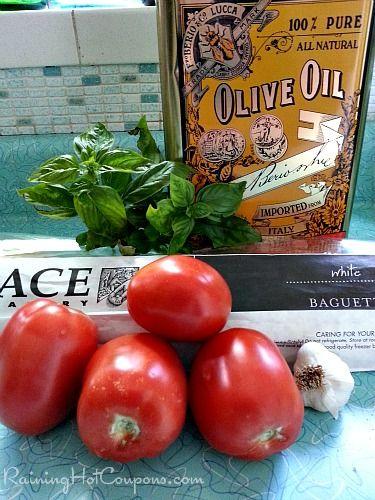 Copycat Olive Garden Bruschetta al Pomodoro Recipe