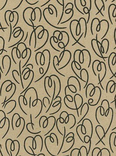 handbedrukt behang, ook in andere kleuren verkrijgbaar, met bijpassende verf verf, via P.T. Contract Carpets