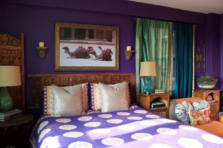 17 Best Ideas About Indian Inspired Bedroom On Pinterest