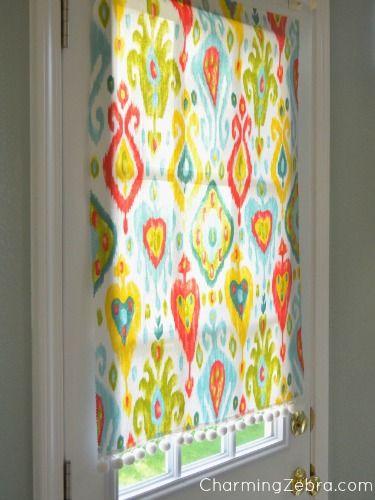Magnetic curtain for kitchen door