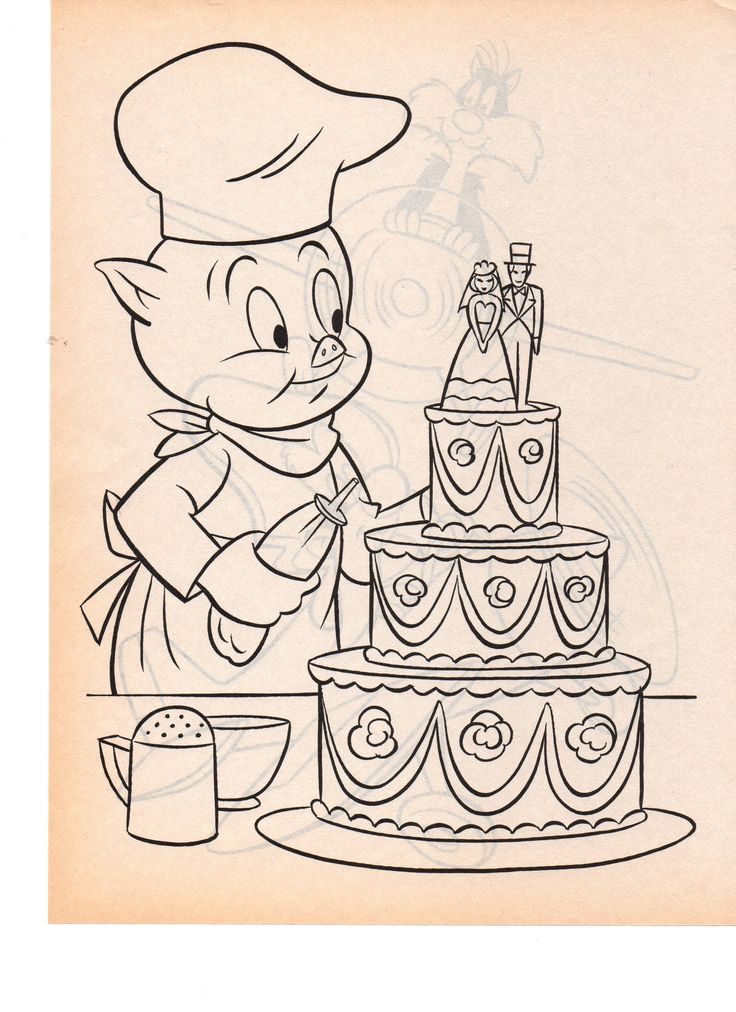 petunia pig coloring pages - photo#29
