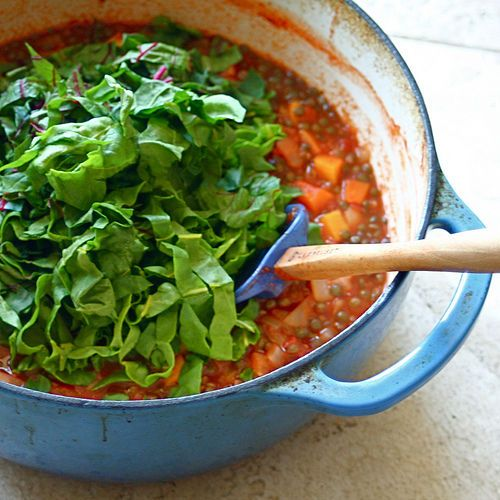 Moroccan Lentil Soup | Food | Pinterest
