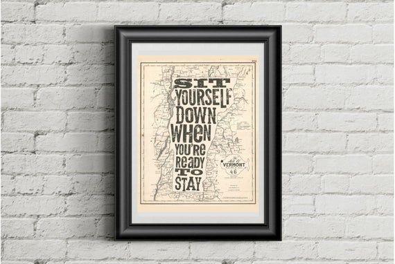 PHISH Inspired Poster Print 11X14 Lyric Art