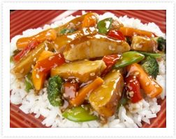 Turkey Teriyaki Stirfry