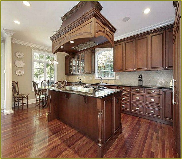 Best paint colors for kitchen with cherry cabinets home for Kitchen color ideas with cherry cabinets