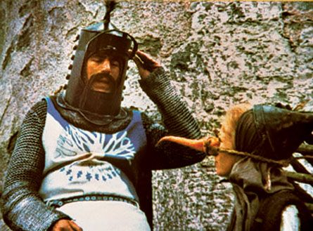 Sir Bevedere - Monty Python and the Holy Grail - 1975