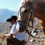 Leo - Chilean mountain horseman - Horse Riding Santiago - Riding Tours