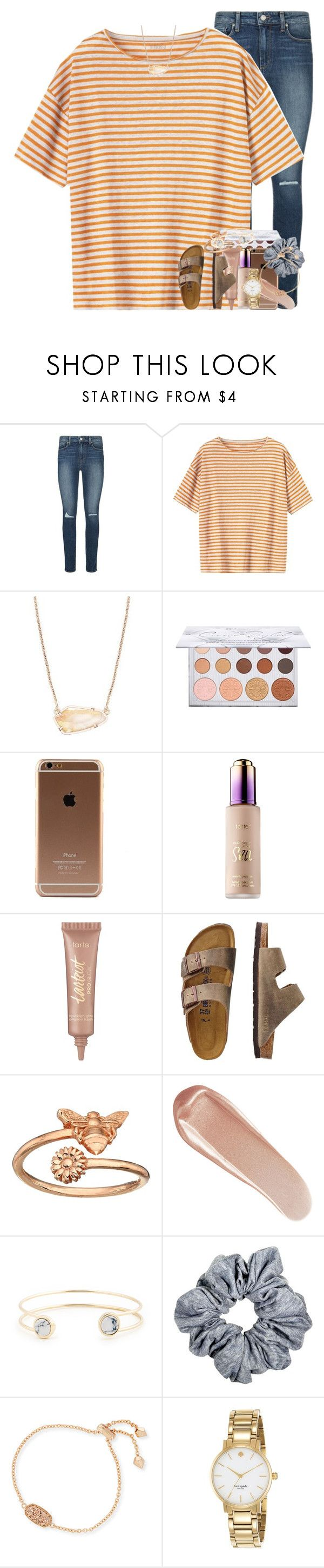 """""""i focused so hard on what i wanted, i lost sight of what i deserved."""" by ellaswiftie13 on Polyvore featuring Paige Denim, Toast, Kendra Scott, tarte, TravelSmith, Alex and Ani, NARS Cosmetics, Sole Society and Kate Spade"""