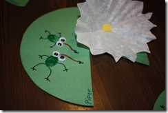 lily pad- craft to make when learning about Monet