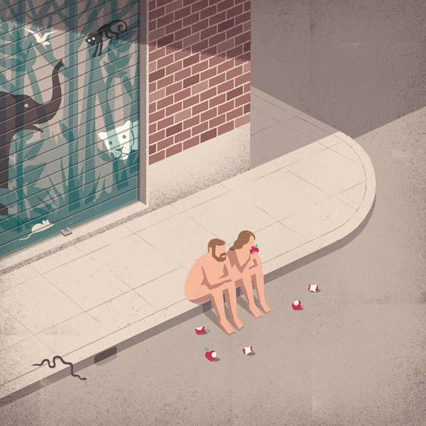 Illustrations by Davide Bonazzi