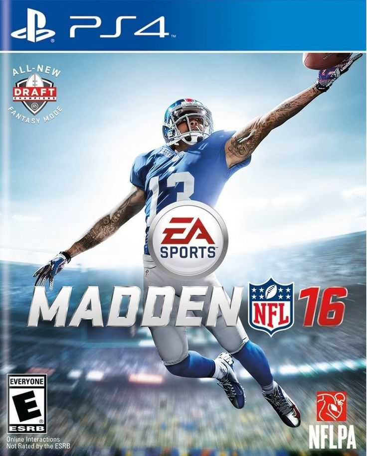 Madden NFL 16 PS4 Physical Game Disc US