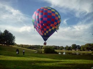 Kevin Dayhoff - Soundtrack: An air balloon slowly takes off at Carroll County Ag Center in Westminster Md http://kevindayhoff.blogspot.com/2013/09/an-air-balloon-slowly-takes-off-at.html