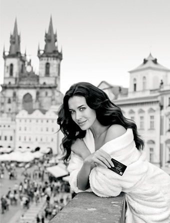 Megan Gale styled by Jenni Booth
