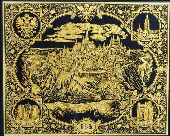 Arte Damasquinado - Ciudad de Toledo - donde esta hecho