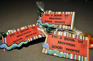 Book of Mormon Book Worms - Little LDS IdeasLittle LDS Ideas