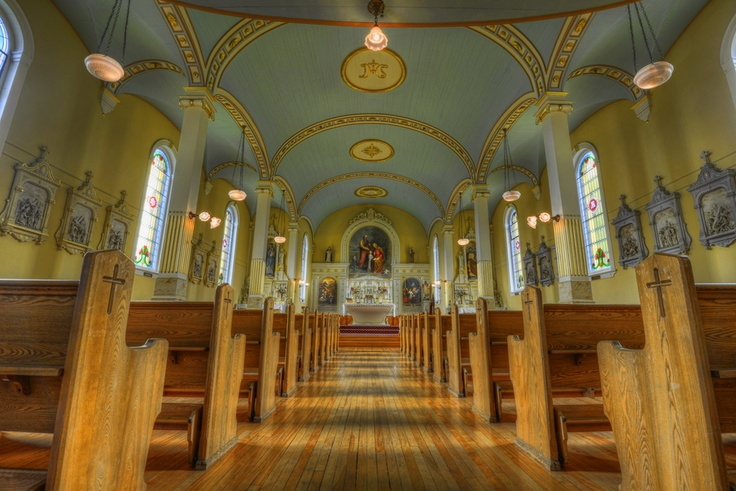 Chapel at St. Ann's Academy in Victoria BC.