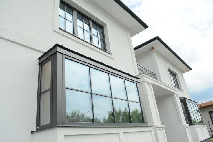 Beautiful outside, amazing inside! Look for the Janko Wood-Aluminium windows!