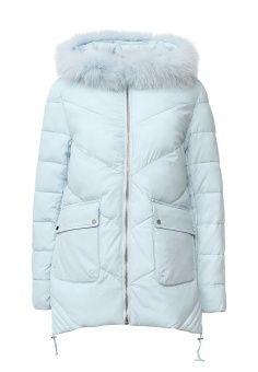Утепленная куртка, Tom Farr, цвет: голубой. Артикул: TO005EWLJP28. Женская одежда / Верхняя одежда / Пуховики и зимние куртки