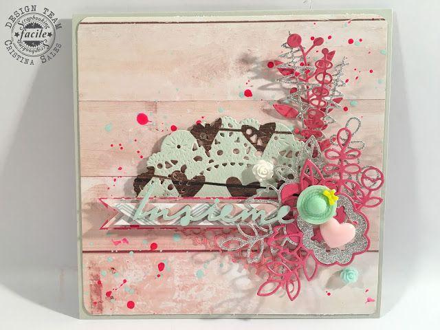 Scrap and so on: Una coppia ... in rosa.