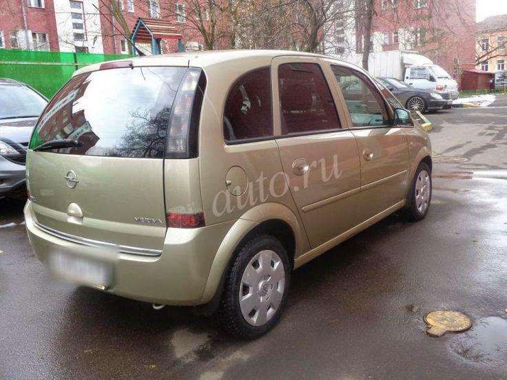 Микровэны - Минивэны - Вэны.: Продажа Opel Meriva A Рестайлинг 1.7d AT (100 л.с....
