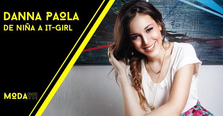 Danna Paola Rivera Munguía, mejor conocida como Danna Paola es una joven actriz y cantante mexicana. Ella es reconocida por sus papeles en series infantiles y juveniles, y su papel de Elphaba en la primera versión en español del musical, Wicked.    Lee más en www.moda911.com