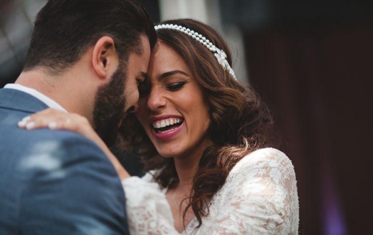 Votos de casamento: noivos celebram a união - Foto Túlio Thomé