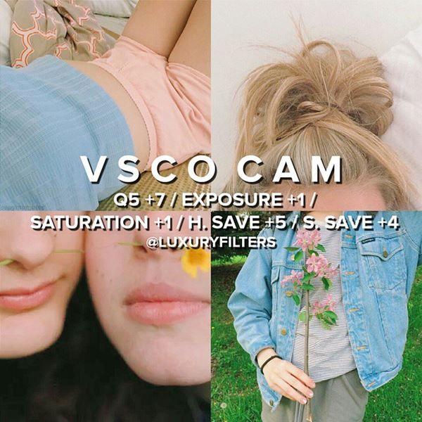สูตรแต่งรูป vscocam