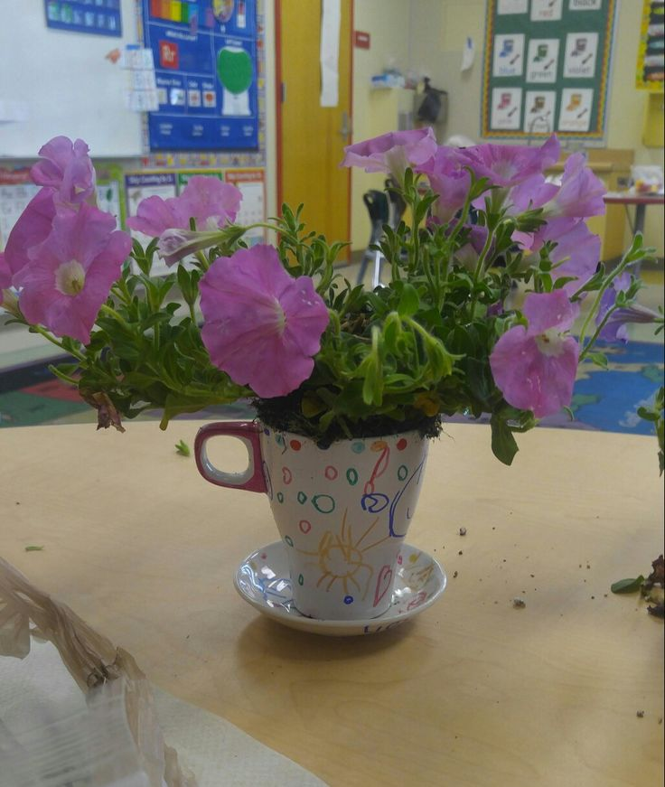 Mother's day. Inspiration from Alice in wonderland teacups.