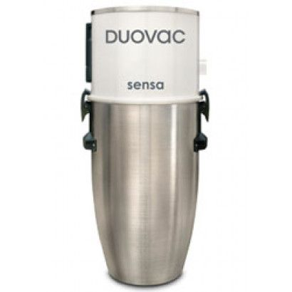 Duovac Sensa 5.8-Gallon System: The Duovac Sensa is a one of a kind central vacuum system with first-class suction power and excellent quality. This power unit provides a state-of-the-art design high-performance filtration system for superior air quality. Perfect for homes up to 8,500 Sq ft.
