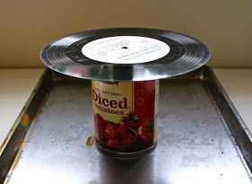 The Surznick Common Room: DIY Vinyl Record Bowls