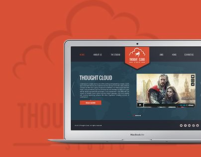 """Check out my @Behance project: """"Thought Cloud"""" https://www.behance.net/gallery/20123211/Thought-Cloud"""