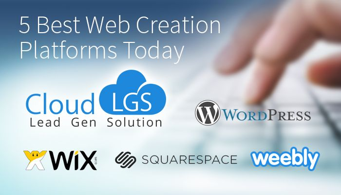 Now days, there is no need to be a web designer or a web developer to create a website. There are lot of web creation platforms with simple tools, designed in such a way that every one can develop a website. Read more @ https://www.cloudlgs.com/en/blog-56-5-best-web-creation-platforms-today