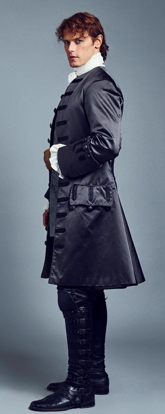 Jamie Fraser, looking stunningly handsome in elegant Parisian attire!    . . . https://todaynewsshow.com/outlander-season-2-extended-cast-promotional-photos/