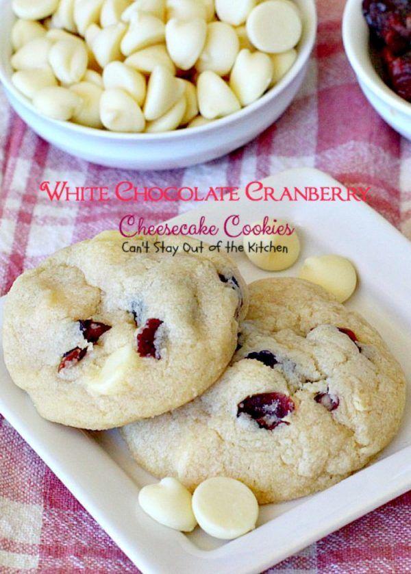 White Chocolate Cranberry Cheesecake Cookies – IMG_3045