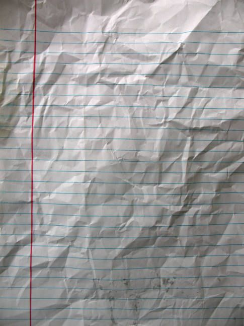 Wrinkled Paper textures (5 Textures)