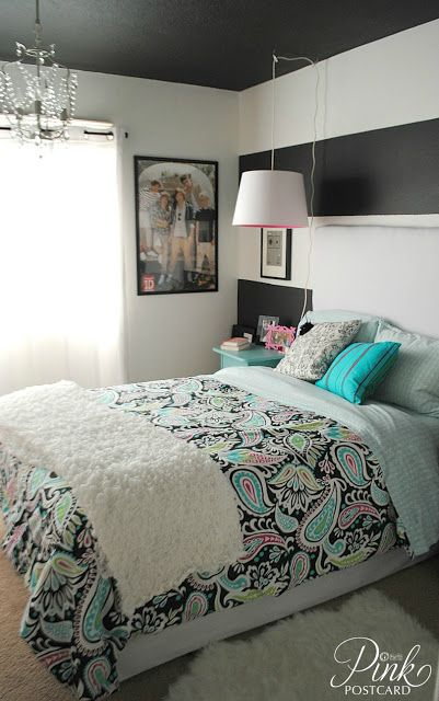 pink postcard modern and colorful teen bedroom teen 12885 | 8eecfc36f80313cd654c22585303b79a colorful teen bedrooms cute teen bedrooms