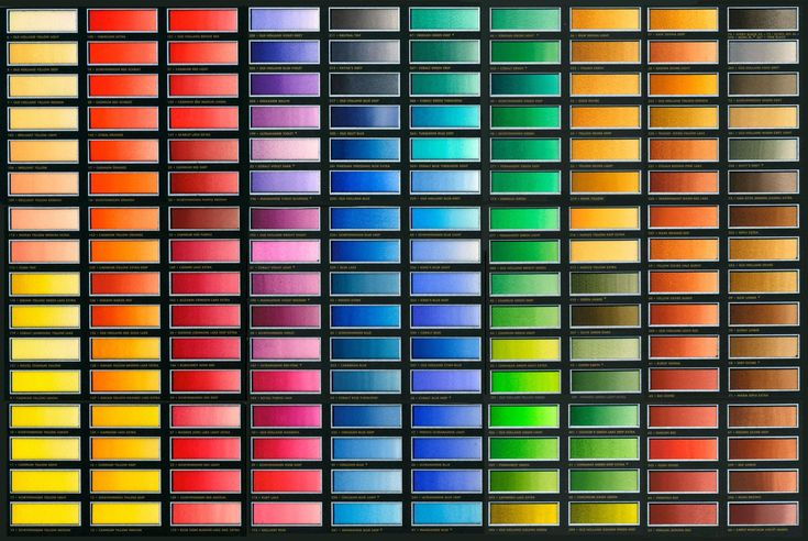 Classic Watercolours | colour chart | Old Holland Classic Colours