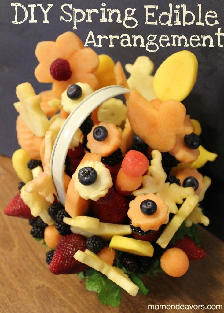 Make Your Own Edible Arrangement--Perfect for Spring!