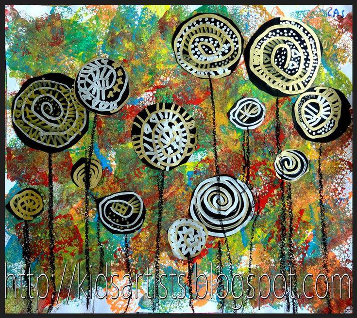 Hunderwasser Famous Tree Paintings